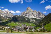 Alta Badia vale Itália