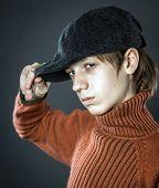 Teenage Boy Portrait