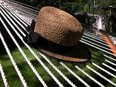 Straw Hat on Hammock