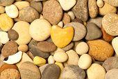 A Stone Heart Shaped