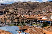 General View Of The City Of Cuzco, Peru