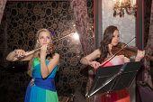Violine-Duett