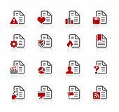 Documents Icons - 2 // Redico Series