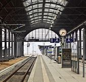Railway Station In Wiesbaden