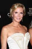 LOS ANGELES - JUN 16:  Katherine Kelly Lang arrives at the 40th Daytime Emmy Awards at the Skirball Cultural Center on June 16, 2013 in Los Angeles, CA
