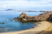stock photo of papagayo  - Playa de Papagayo (Parrot