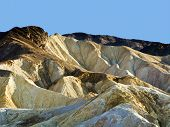 Picturesque Soft Waves From Multi-coloured Sandstone In Death Valley
