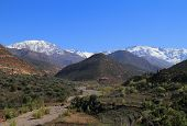 Morocco, High Atlas Mountains,Toubkal National Park