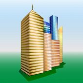 Vector Buildings. Cityscape.