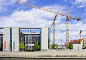 Berlin, Germany - Government District, Marie-Elisabeth-Luders-Haus Building