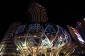 MACAU, CHINA - OCTOBER 31, 2012: Casino Grand Lisboa - one of the biggest and most popular casino. M
