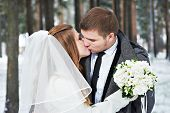Lovers Bride And Groom
