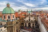 Prague City, One Of The Most Beautiful City In Europe
