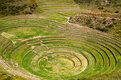 Peru, Sacred Valley, Laboratory Of Agriculture Of The Incas