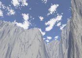Paesaggio In Alta Quota In Montagna Invernale