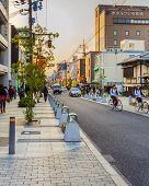 Sanjo Dori Street in Nara