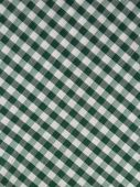 Green Checkered Fabric
