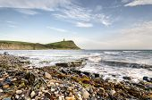 Kimmeridge Bay On The Jurassic Coast Of Dorset