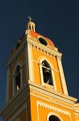 picture of rebuilt  - The Cathedral of Granada is a bright yellow neoclassical church originally built in 1583 - JPG