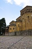 Collegiate Church of Castell'Arquato. Emilia-Romagna. Italy.