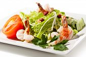 stock photo of tiger prawn  - Chinese Cuisine  - JPG