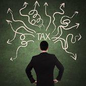 Businessman And Tax Problem