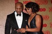 vLOS ANGELES - JAN 12:  Mike Tyson, Angela Bassett at the HBO 2014 Golden Globe Party  at Beverly Hilton Hotel on January 12, 2014 in Beverly Hills, CA