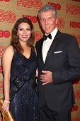 vLOS ANGELES - JAN 12:  Michael Buffer at the HBO 2014 Golden Globe Party  at Beverly Hilton Hotel o