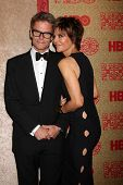 vLOS ANGELES - JAN 12:  Harry Hamlin, Lisa Rinna at the HBO 2014 Golden Globe Party  at Beverly Hilt