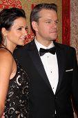 vLOS ANGELES - JAN 12:  Matt Damon at the HBO 2014 Golden Globe Party  at Beverly Hilton Hotel on Ja