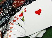 Flush & Gambling Chips