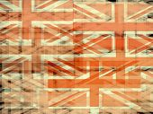Union Jack Flag Abstract