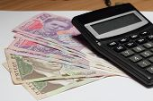 Ukrainian Hryvnia And Calculator