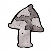 image of toadstools  - cartoon toadstool - JPG