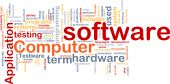 Software Word Cloud
