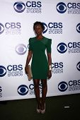 LOS ANGELES - MAY 19:  Anna Diop at the CBS Summer Soiree at the London Hotel on May 19, 2014 in Wes