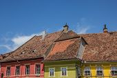 Roof Tops Of The Citadel Of Sighisoara