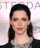 LOS ANGELES - APR 10:  Rebecca Hall arrives to the 'Transcendence' Los Angeles Premiere  on April 10, 2014 in Westwood, CA