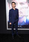 LOS ANGELES - APR 10:  Antonio Del Prete arrives to the 'Transcendence' Los Angeles Premiere  on April 10, 2014 in Westwood, CA