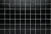 surface black tiles