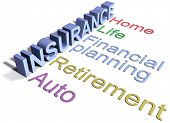 Comprehensive insurance services for home auto life financial planning