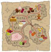 Candyland map