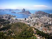 Sugar Loaf Mountain and Rio de Janeiro Cityscape, Brazil