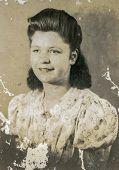 WIENER NEUSTADT, AUSTRIA, CIRCA 1930:  Vintage photo of woman