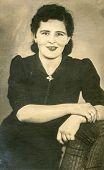 GERMANY, CIRCA 1930:  Vintage photo of woman