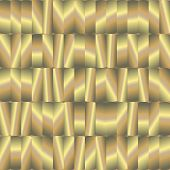 Abstract Seamless Pattern With Gold Plates