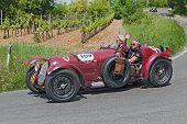Alfa Romeo 8C 2900 A (1936) In Mille Miglia 2014