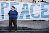 Peace Demonstrator