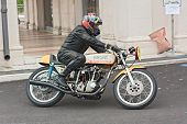 Vintage Racing Motorcycle Ducati
