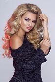 Beauty Blonde Woman Portrait
